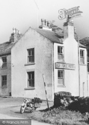 High Force Hotel c.1960, High Force