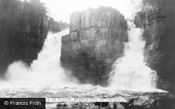 High Force, In Flood c.1950
