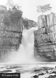 High Force, Waterfall 1929