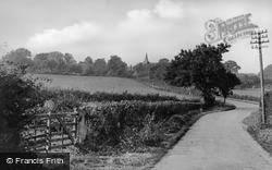 High Halden, South View c.1955