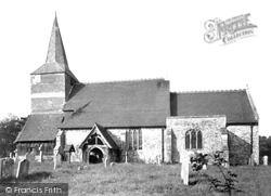 High Halden, St Mary's Church c.1955