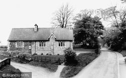 High Hutton, Village School c.1965