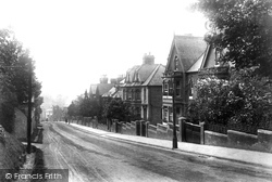 High Wycombe, Amersham Hill 1906