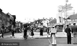 Frogmoor Looking North c.1955, High Wycombe