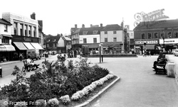 High Wycombe, Frogmoor, Looking South c.1965