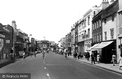 High Street c.1955, High Wycombe