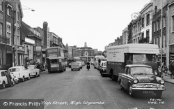 High Street c.1965, High Wycombe
