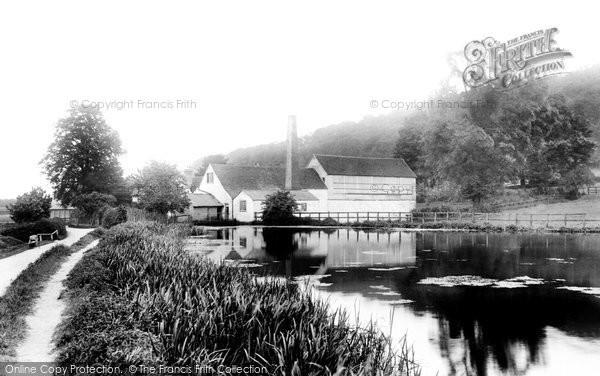 High Wycombe,Marsh Green Mill 1906,Buckinghamshire