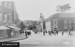 Municipal Building And Library c.1955, High Wycombe
