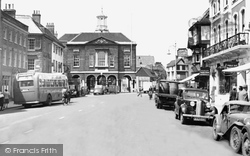 High Wycombe, The Guildhall c.1955