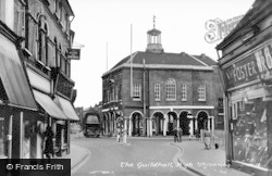 The Guildhall c.1955, High Wycombe