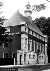The New Town Hall 1906, High Wycombe