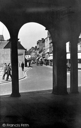 High Wycombe, View From The Guildhall c.1955