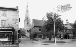 Market Square And St Mary's Church c.1965, Higham Ferrers