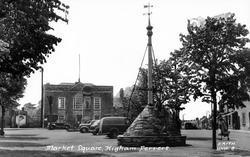 Market Square c.1955, Higham Ferrers
