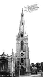 St Mary's Church c.1955, Higham Ferrers
