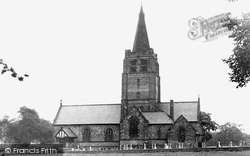 Higher Walton, Church Of St John The Evangelist c.1960