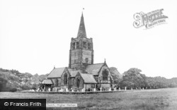 Higher Walton, Church Of St John The Evangelist c.1965