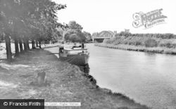 Higher Walton, The Canal c.1965