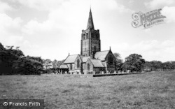 Higher Walton, The Church c.1965