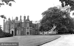Higher Walton, Walton Hall c.1960