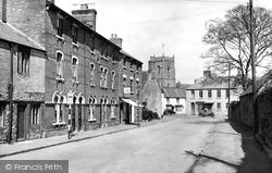 Highworth, Cricklade Road c.1955