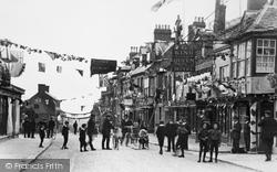 Highworth, High Street 1911