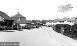 Highworth, Orange Close c.1955