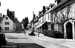 Highworth, Sheep Street c.1950