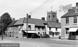 Highworth, St Michael's Church And High Street c.1955