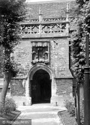 Highworth, The Porch, St Michael's Church c.1955