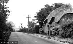 Highworth, Turnpike Cottage c.1955