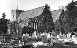 All Saints Church c.1955, Hilgay