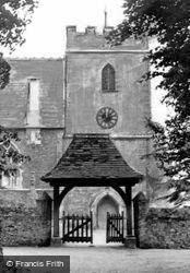 The Church Lychgate c.1960, Hilgay