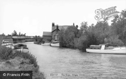The River c.1960, Hilgay