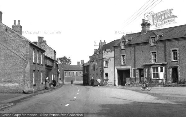 Photo of Hilgay, the Village c1955