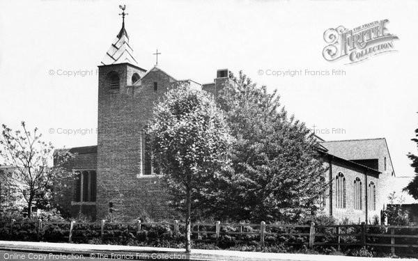Hillingdon, All Saints Church c1955