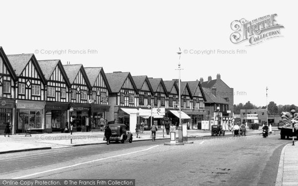 Hillingdon, Kings Parade c1950