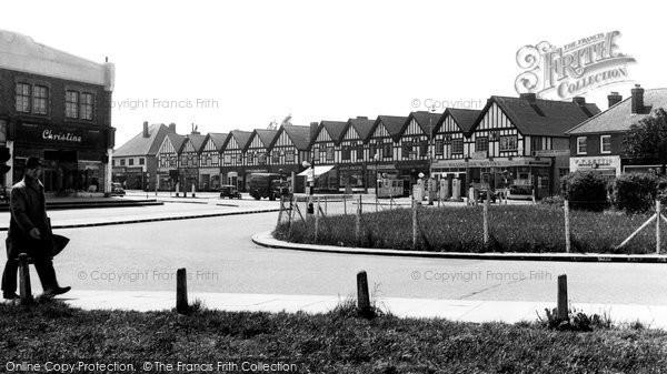 Hillingdon, King's Parade, Long Lane c1950