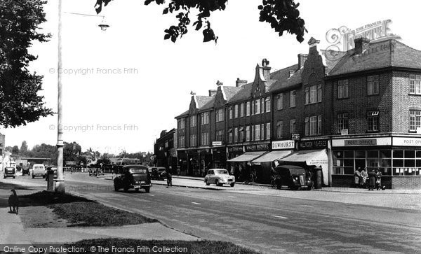 Hillingdon, Long Lane c1950