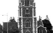 Hillingdon, St John's Parish Church c1955