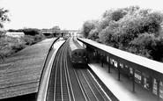 Hillingdon, the Railway Station c1960