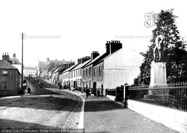 Photo of Hillsborough, Main Street c.1890
