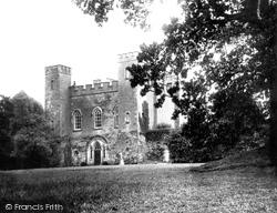 Hillsborough, The Castle, Gatehouse 1890