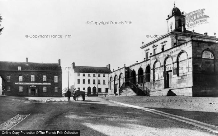 Photo of Hillsborough, The Courthouse c.1890