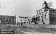 Hillsborough, the Courthouse c1890