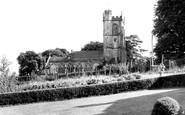 Hilton, All Saints Church c1955