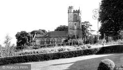 All Saints Church c.1955, Hilton