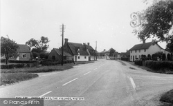 Hilton, Cross Roads, The Village c.1965