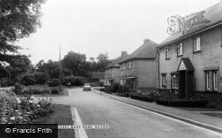Hilton, The Council Houses, Maze Road c.1965